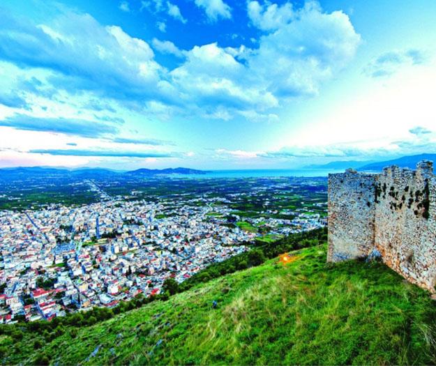 Argos castle near Nafplio Greece - Carpe Diem Boutique Hotel